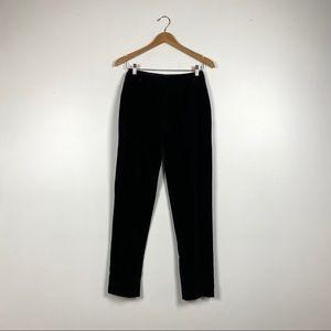 Tissus Ungaro Pinstriped Velvet Pants